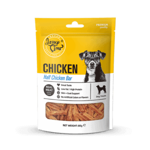 ג'רקי טיים חטיף לכלב מקלוני עוף