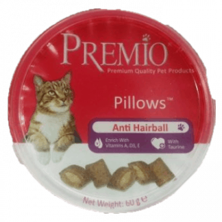 פרמיו חטיף לחתול נגד כדורי שיער 60 גרם
