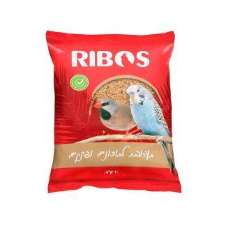 """ריבוס מזון תערובת לתוכונים ופינקים 1 ק""""ג"""