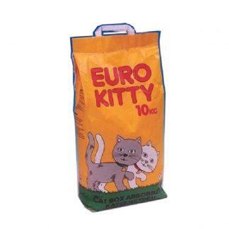 """חול יורו קיטי לחתול 10 ק""""ג"""