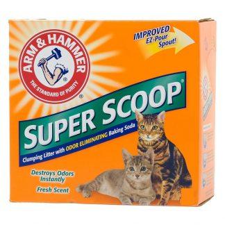 """חול מתגבש סופר סקופ לחתול 9 ק""""ג"""