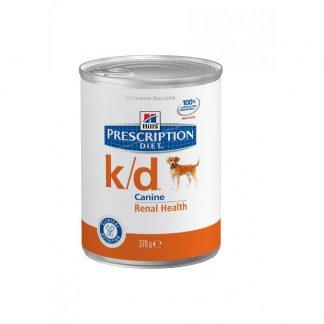 שימורי הילס מזון רפואי K/D לכלב 370 גרם