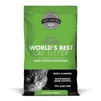 וורלד'ס בסט מצע תירס אקולוגי מתגבש לחתולים