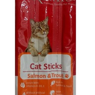 פרמיו חטיף לחתול מקלות סלמון ופורל 15 גרם