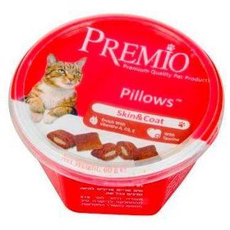 פרמיו חטיף לחתול עור ופרווה 60 גרם