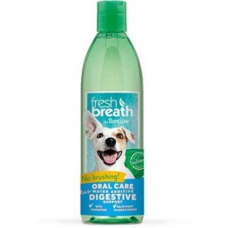 """טרופיקלין מי פה לנשימה רעננה מועשר בפרוביוטיקה,לכלבים וחתולים 473 מ""""ל"""