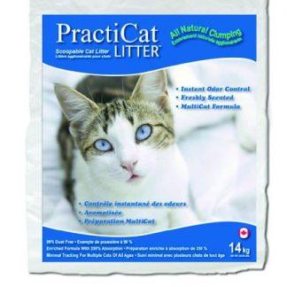"""פרקטיקט חול מתגבש למספר חתולים 14 ק""""ג"""