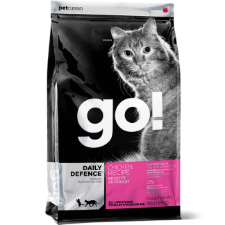 GO Cat Chicken אוכל לחתולים