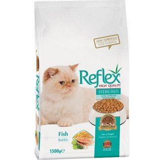 ריפלקס דגים לחתולים בוגרים מסורסים/מעוקרות