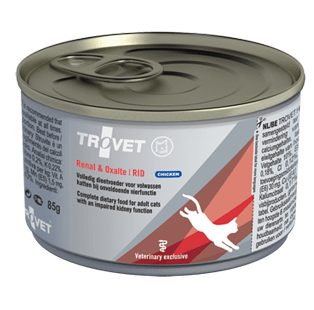 טרו וט מזון רפואי לחתול שימור רנל & אוקסאלאט עוף RID