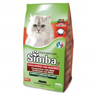 סימבה מזון יבש לחתול בקר