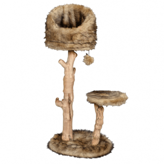פטקס מתקן גירוד עץ טבעי