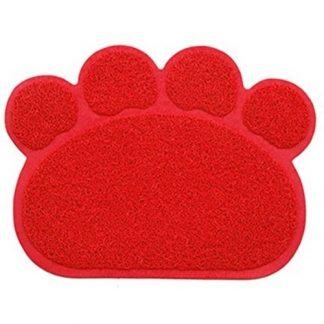 פטקס שטיחון לחתול בצורת כף רגל
