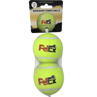 פטקס כדורי טניס מצפצפים