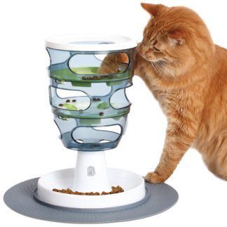 קט איט משחק לחתול מבוך המזון