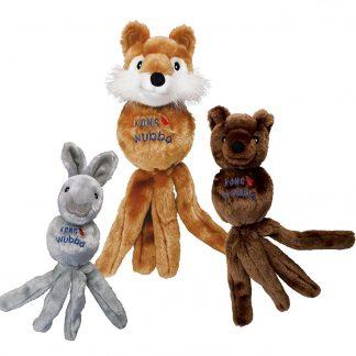 קונג וובה צעצוע לכלב בובת ארנב / דב / שועל