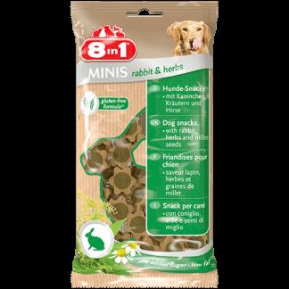 8in1 חטיף לכלב ארנבת ועשבי תיבול