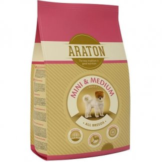 אראטון כלב בוגר גזע קטן ובינוני עוף