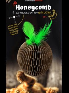פטקס צעצוע גירוד לחתול תפוח