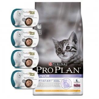 פרופלאן גורים חתול ג'וניור + 4 מעדני פנסי פיסט פיורלי בחינם