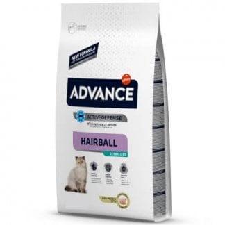 אדוונס חתול היירבול למניעת כדורי שיער