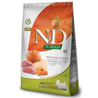 נטורל אנד דלישס כלב בוגר חזיר בר, דלעת ותפוח ללא דגנים