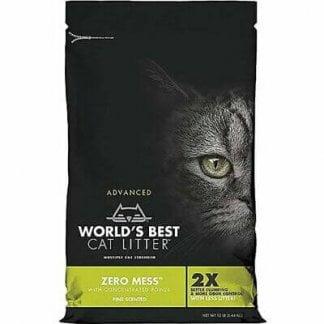 """וורלד'ס בסט """"אפס בלאגן"""" מצע תירס אקולוגי מתגבש לחתולים"""
